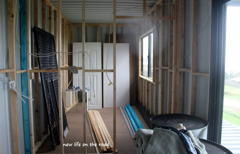 The Bedroom inside the Shipping Container Home