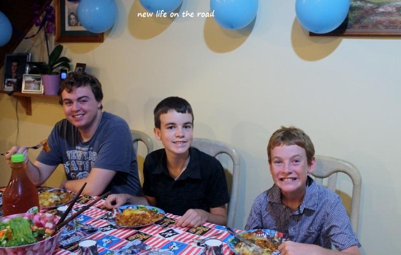 Birthday Dinner Celebration