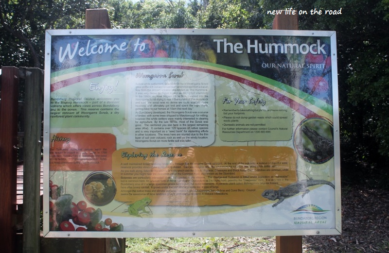 The Hummock Information Board
