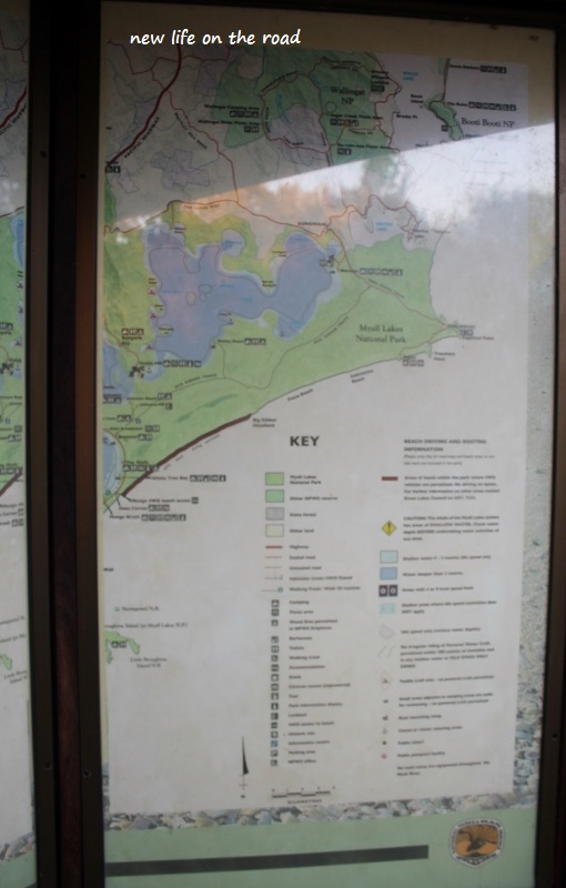 Map of Myall Lakes National Park
