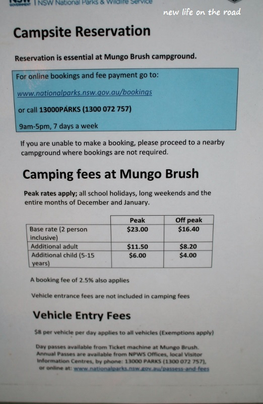 Campsite Reservation and Prices