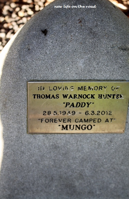 Memorial at Mungo