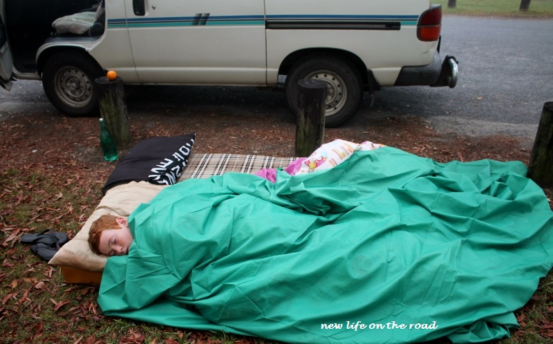 Sleeping at New Italy New South Wales