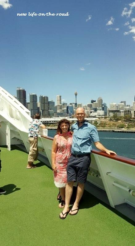 David and I on the P & O Cruise