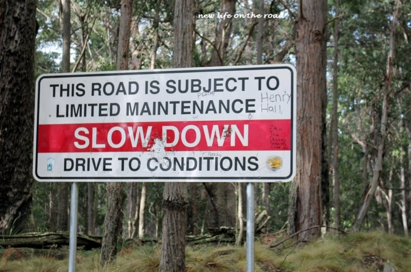 Roads in Barrington Tops