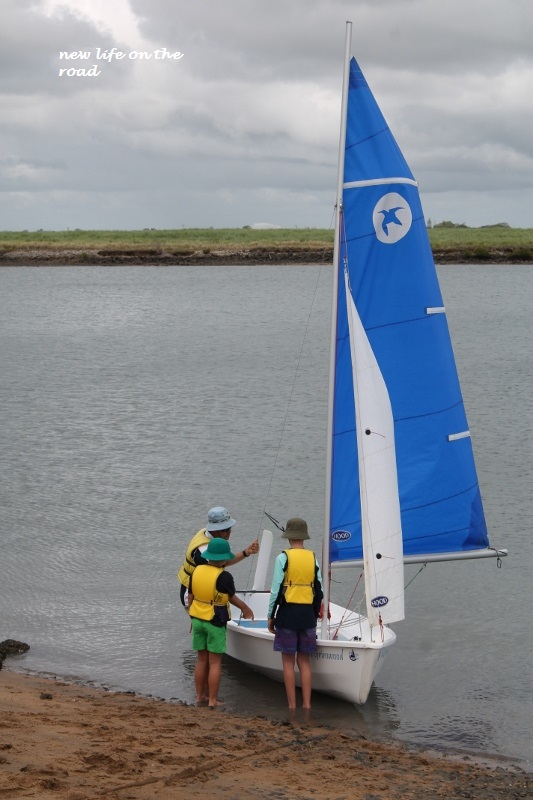First Sailing Lesson