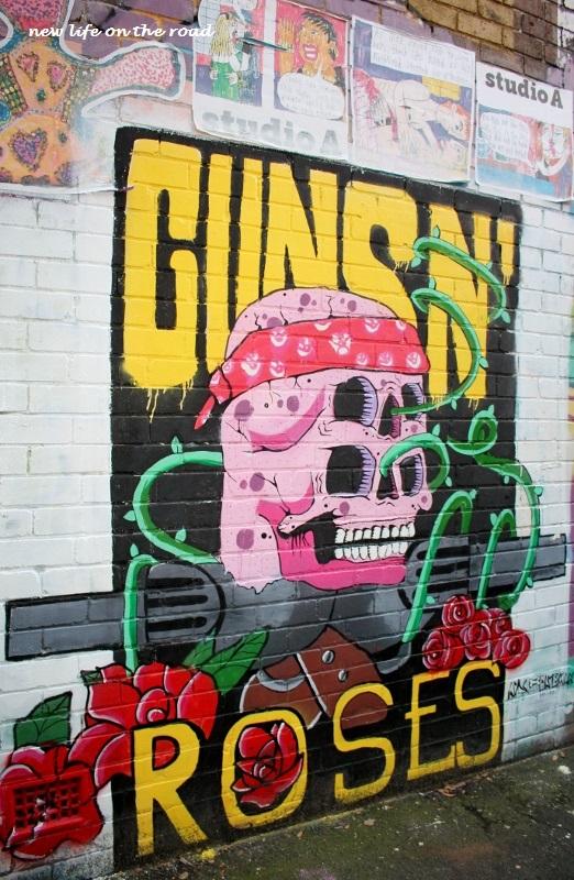 Guns N Roses Street Art