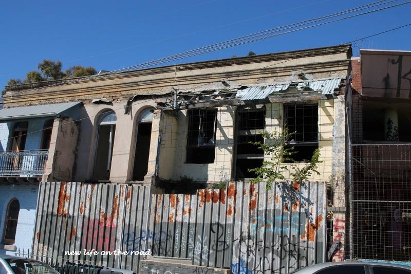 OLD BUILDINGS NEAR REDFERN STATION