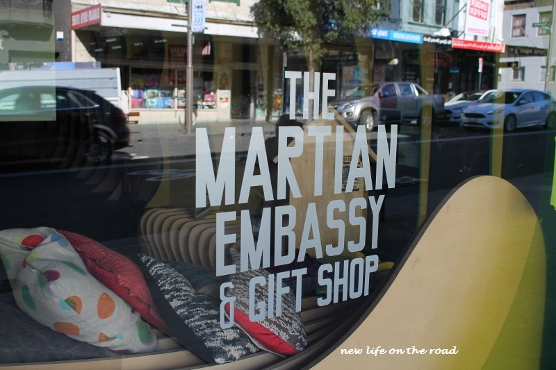 The Martian Embassy