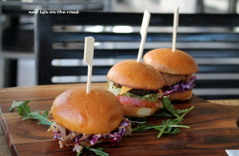 Mini Burgers at the Swallowed Anchor