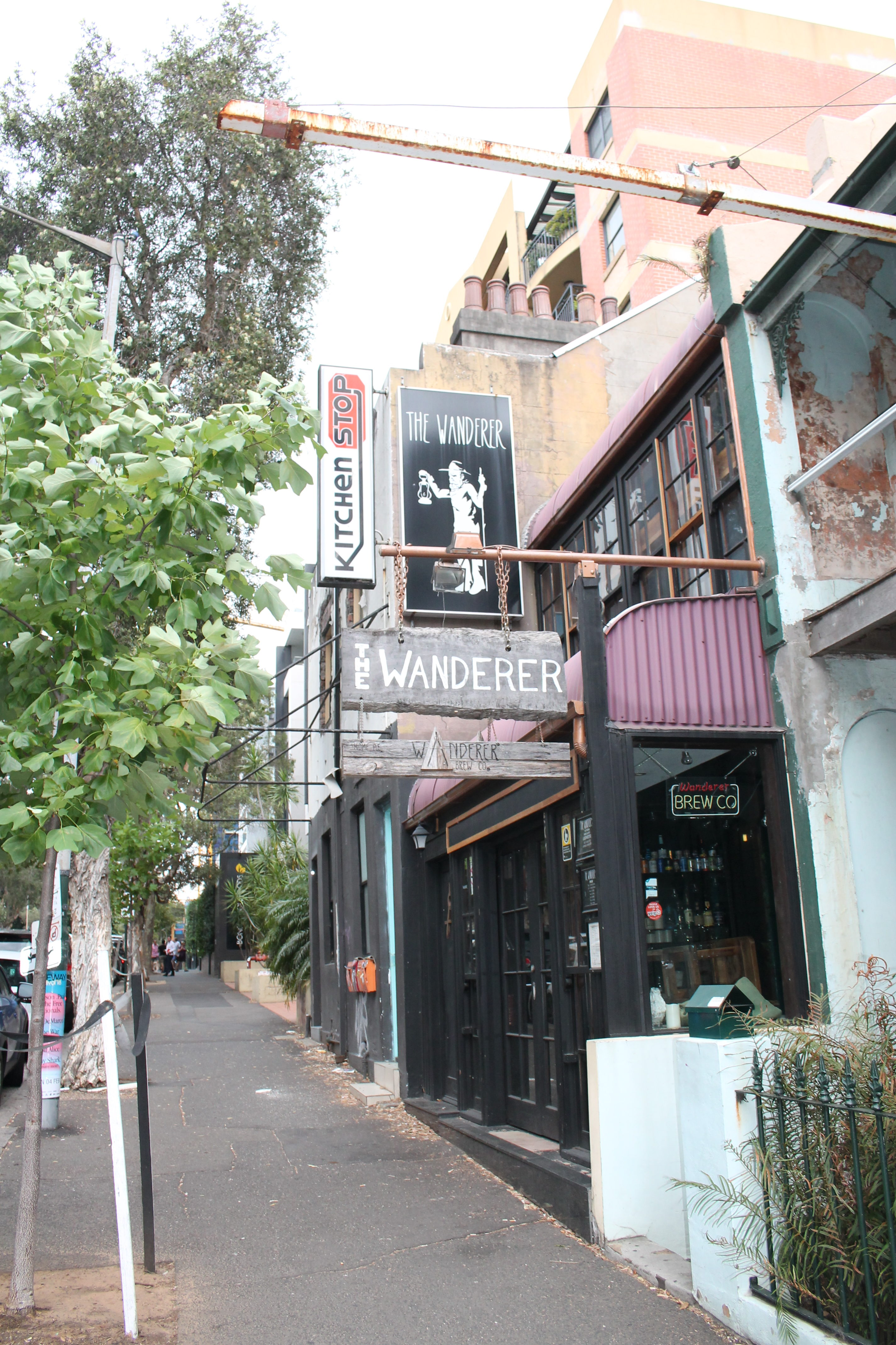 WANDERER CAFE IN SYDNEY