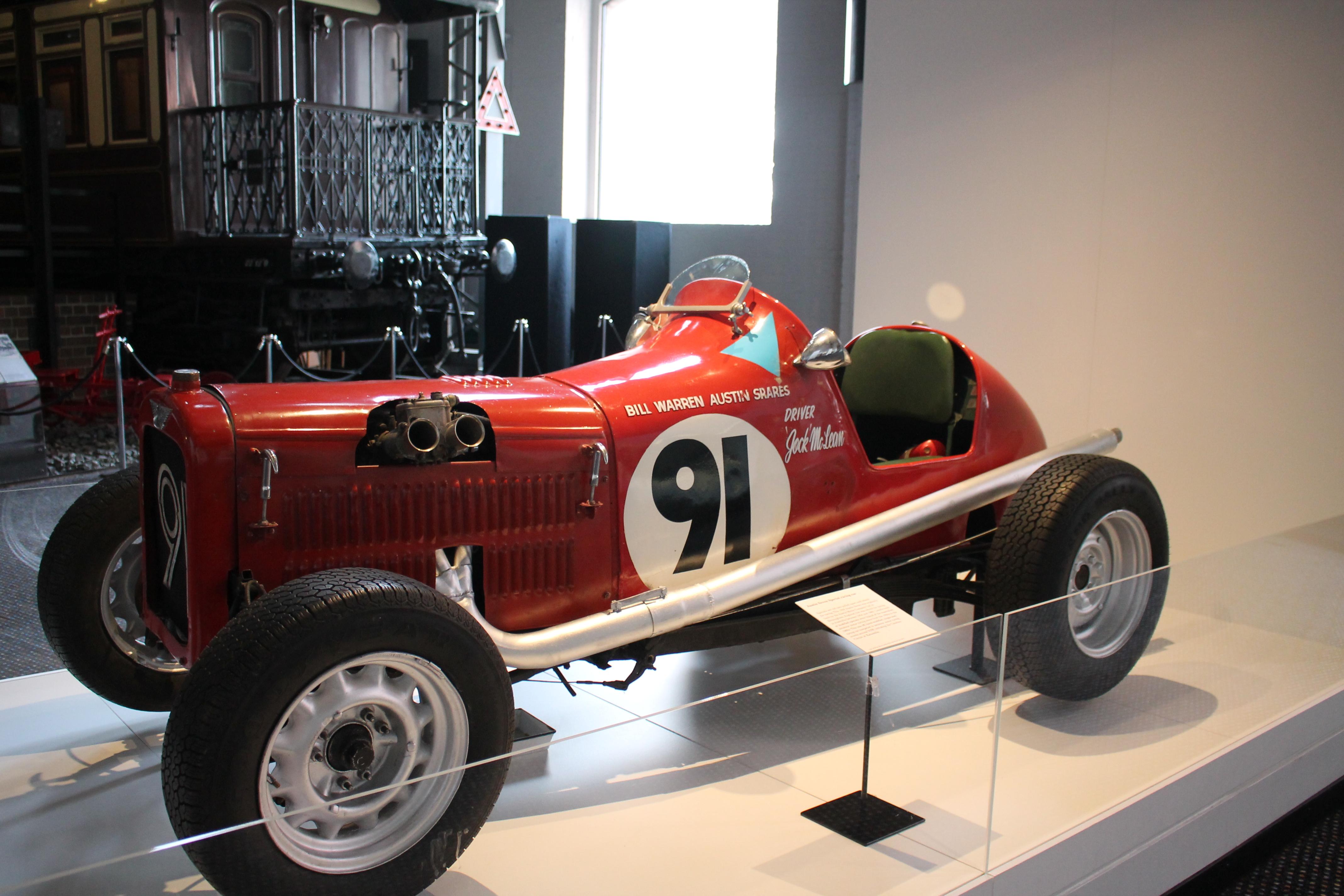 Racing Car in History