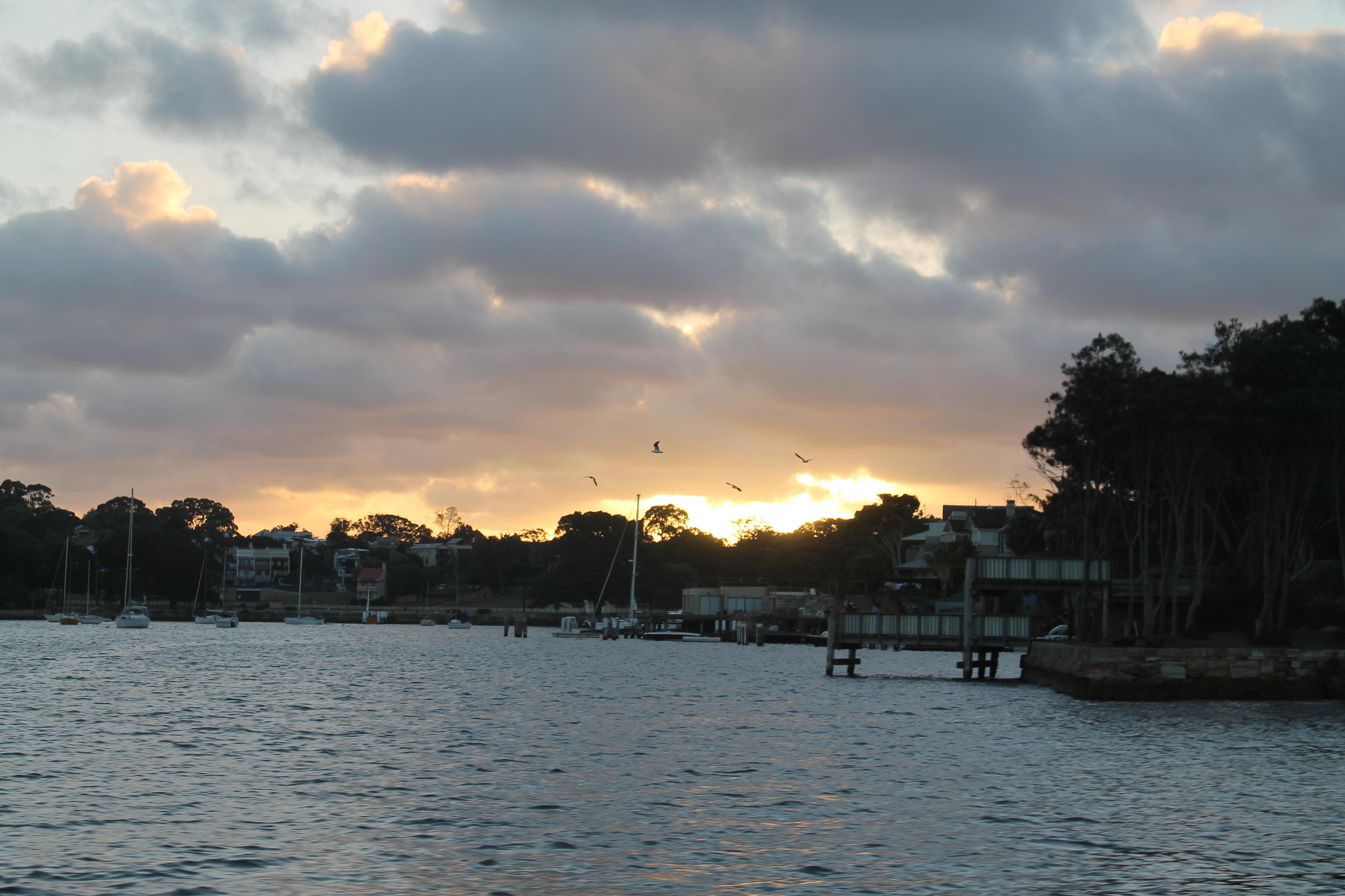 Sunday Sunset Ferries