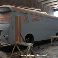 Motorhome Is Now Painted :: Its All Finished